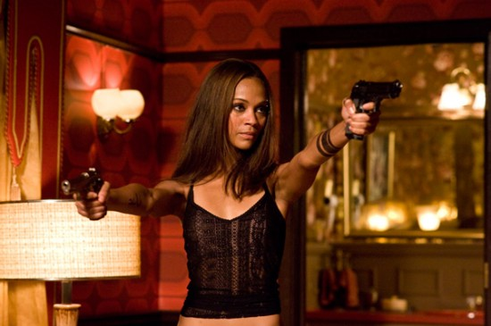 The Losers movie image Zoe Saldana